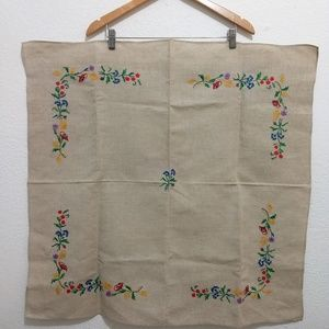🦋3for$20 Linen Embroidery Placement 30in x 31.5in